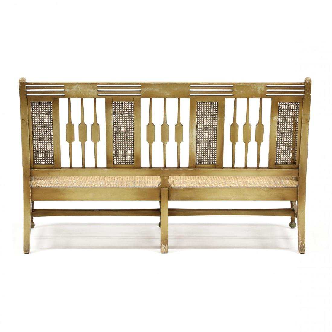 Elgin A. Simonds Furniture Co., Vintage Painted Caned - 5