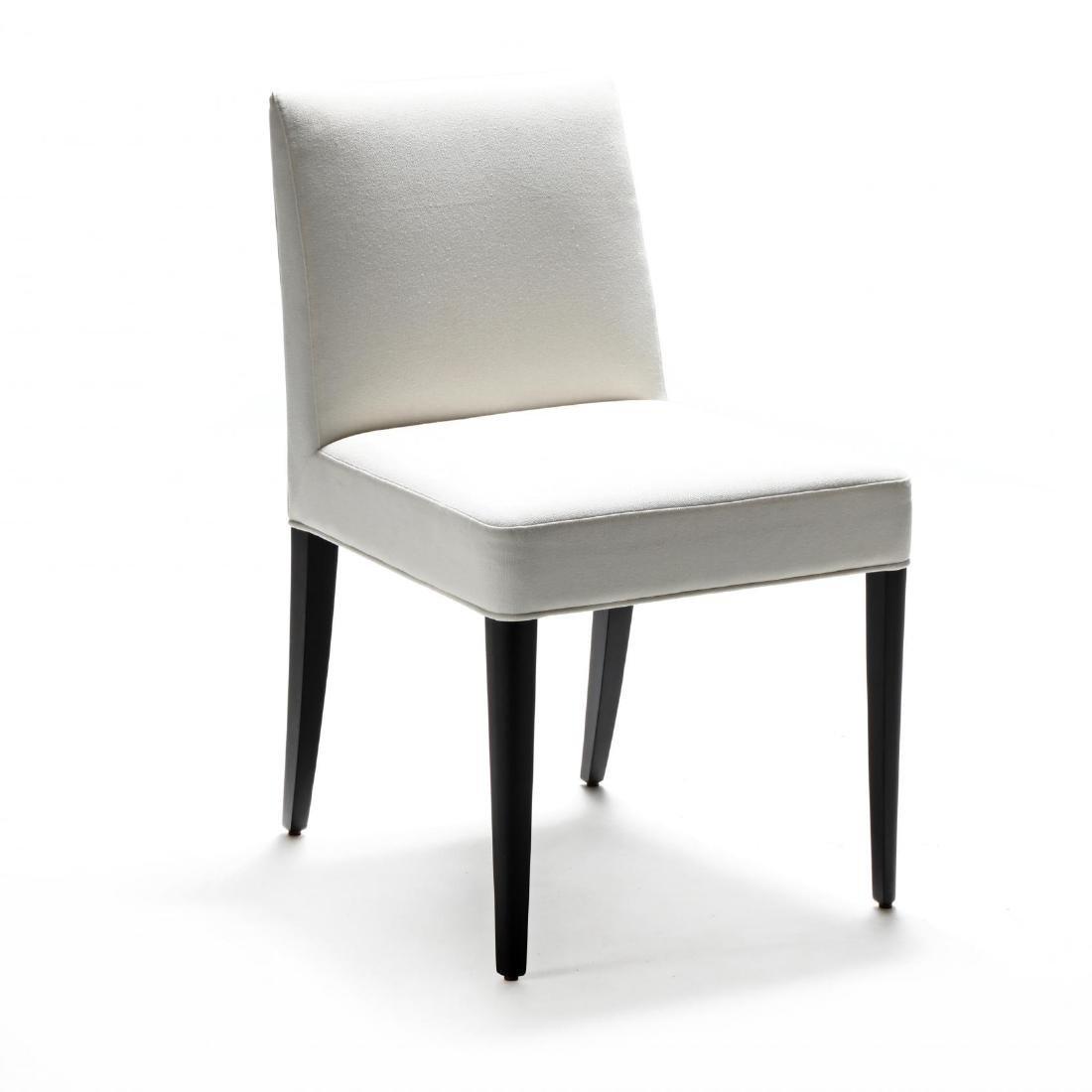 Kara Mann, Set of Four Contemporary Upholstered Dining - 3