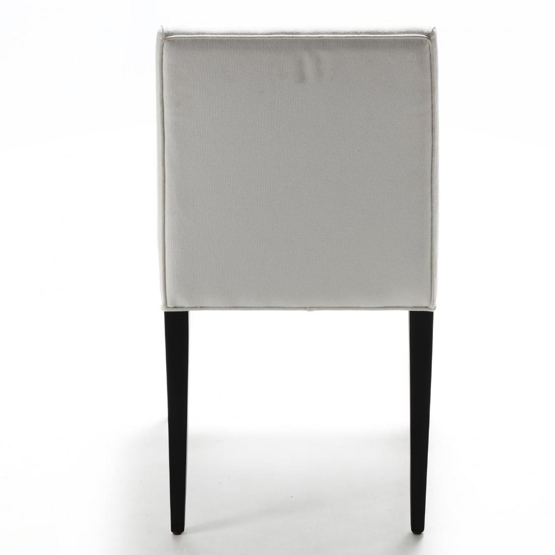 Kara Mann, Set of Four Contemporary Upholstered Dining - 5