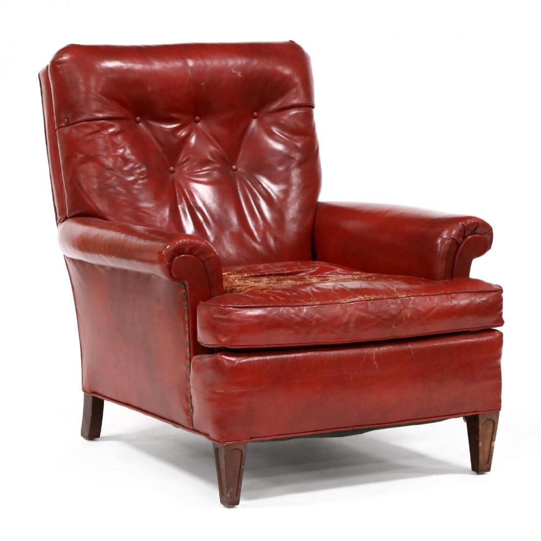 Young Furniture, Vintage Leather Lounge Chair