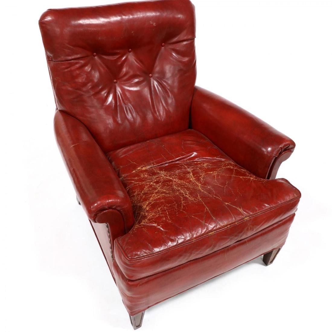 Young Furniture, Vintage Leather Lounge Chair - 2