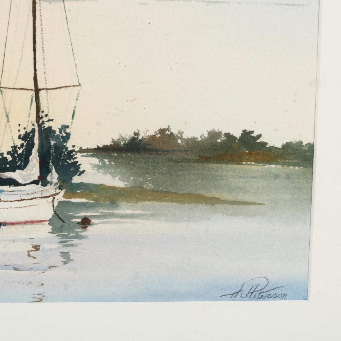 H. J. Peterson (20th Century), Pair of Coastal - 3