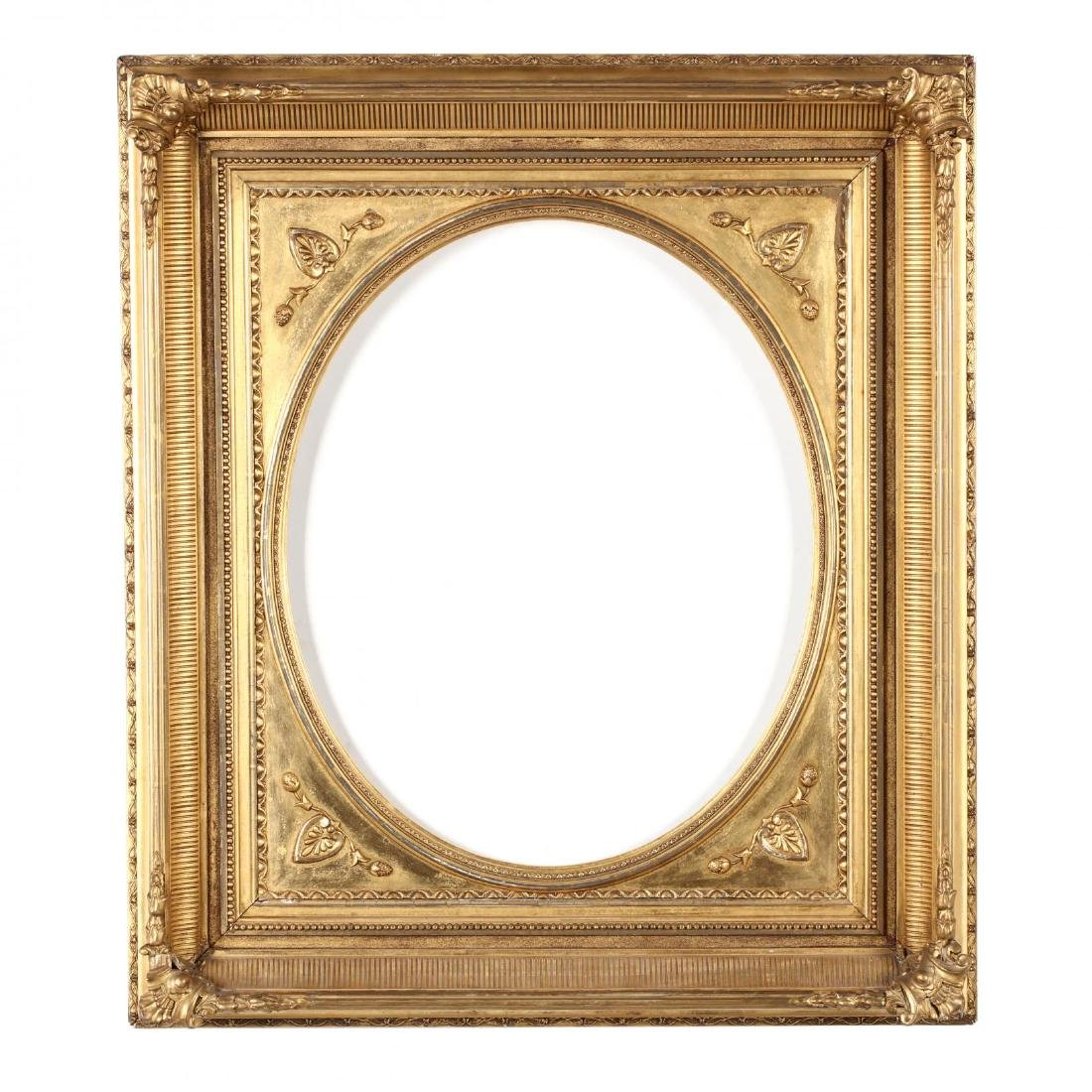 A Pair of Mid-19th Century American Gilt Frames - 2