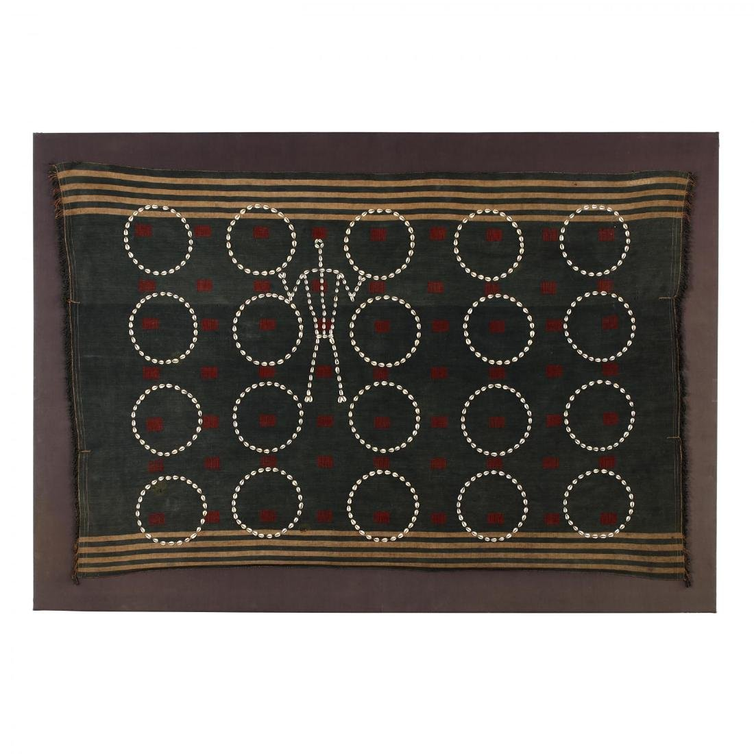 Naga Tribal Blanket with Cowrie Shells