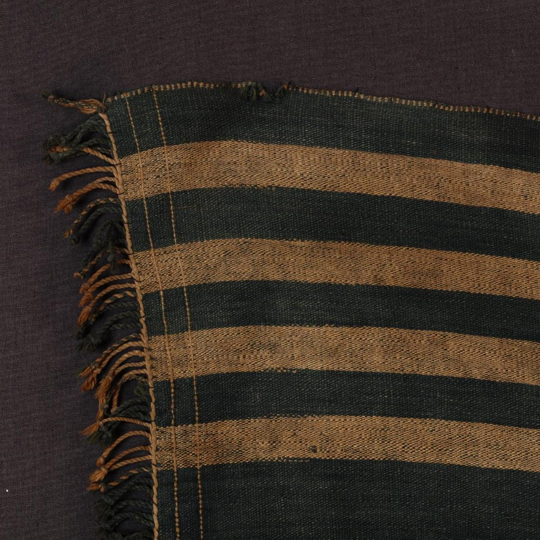 Naga Tribal Blanket with Cowrie Shells - 3