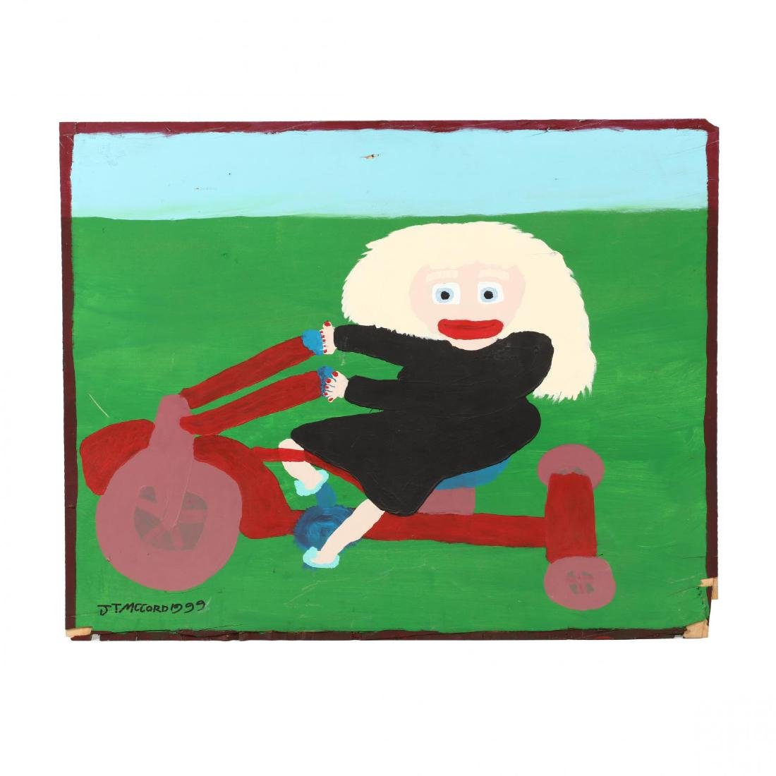 Jake McCord (GA, 1948-2009), Girl on Tricycle