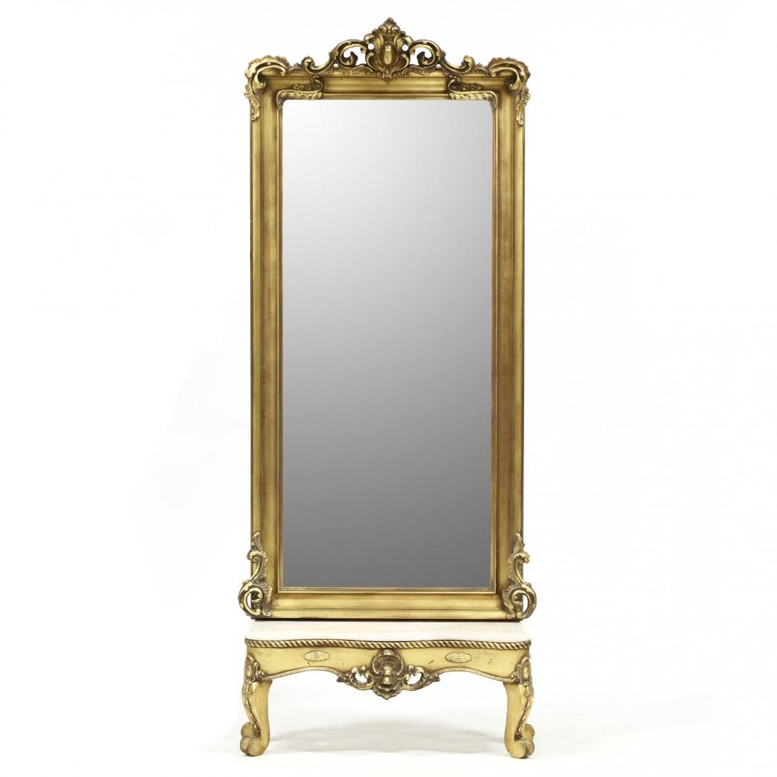 Stroupe Mirror Co., Classical Style Pier Mirror With