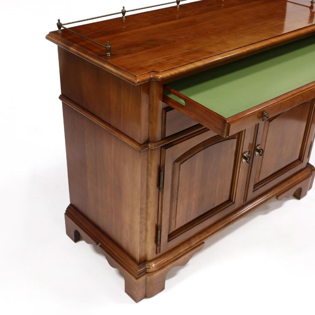 Monitor, Chippendale Style Cherry Server - 4