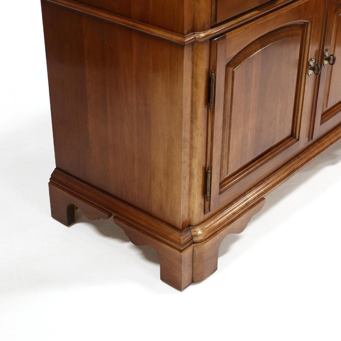 Monitor, Chippendale Style Cherry Server - 5