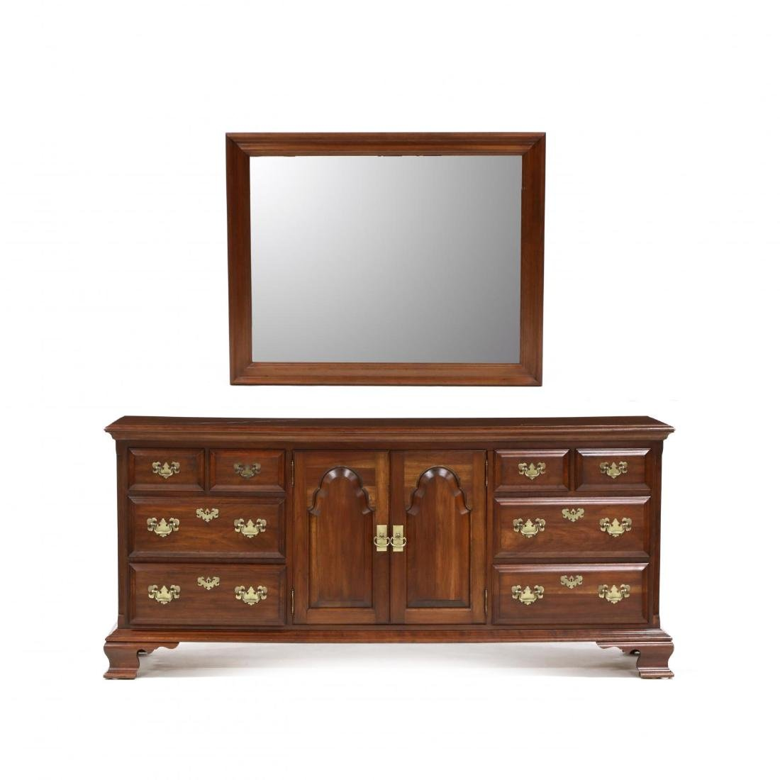 Pennsylvania House, Chippendale Style Cherry Dresser