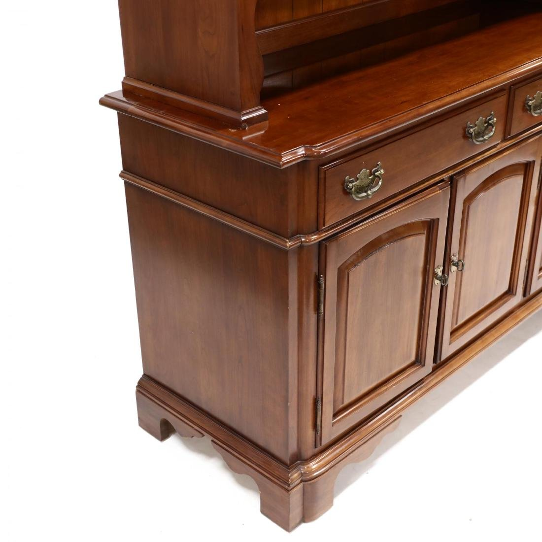 Monitor, Chippendale Style Cherry China Cabinet - 4