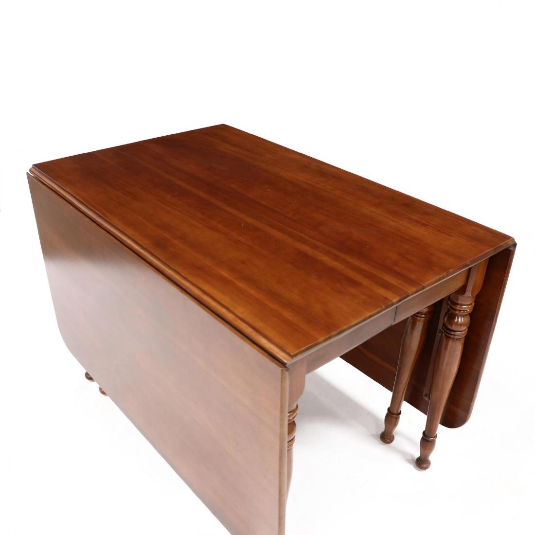 Monitor, Colonial Style Cherry Dropleaf Table and Four - 3