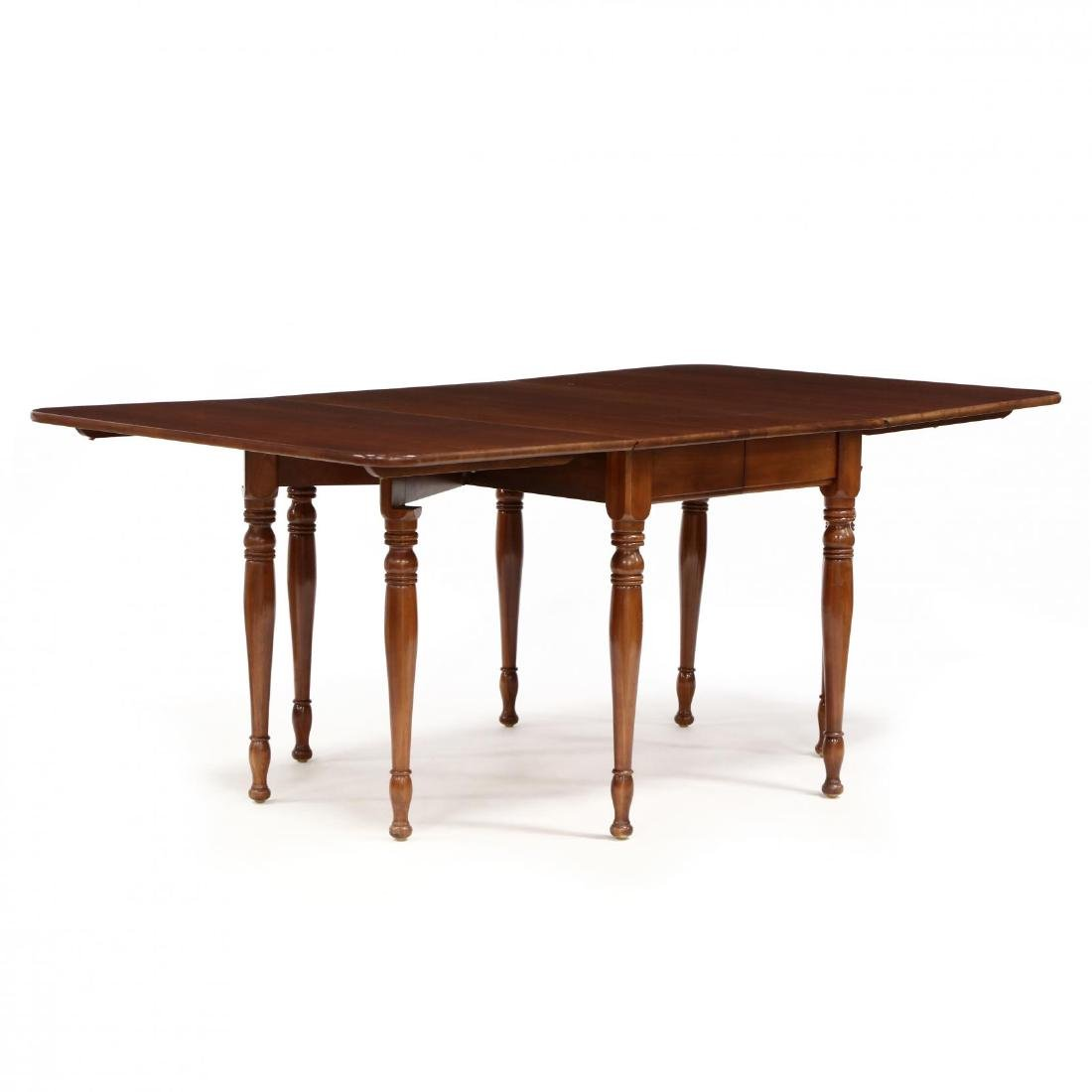 Monitor, Colonial Style Cherry Dropleaf Table and Four - 4