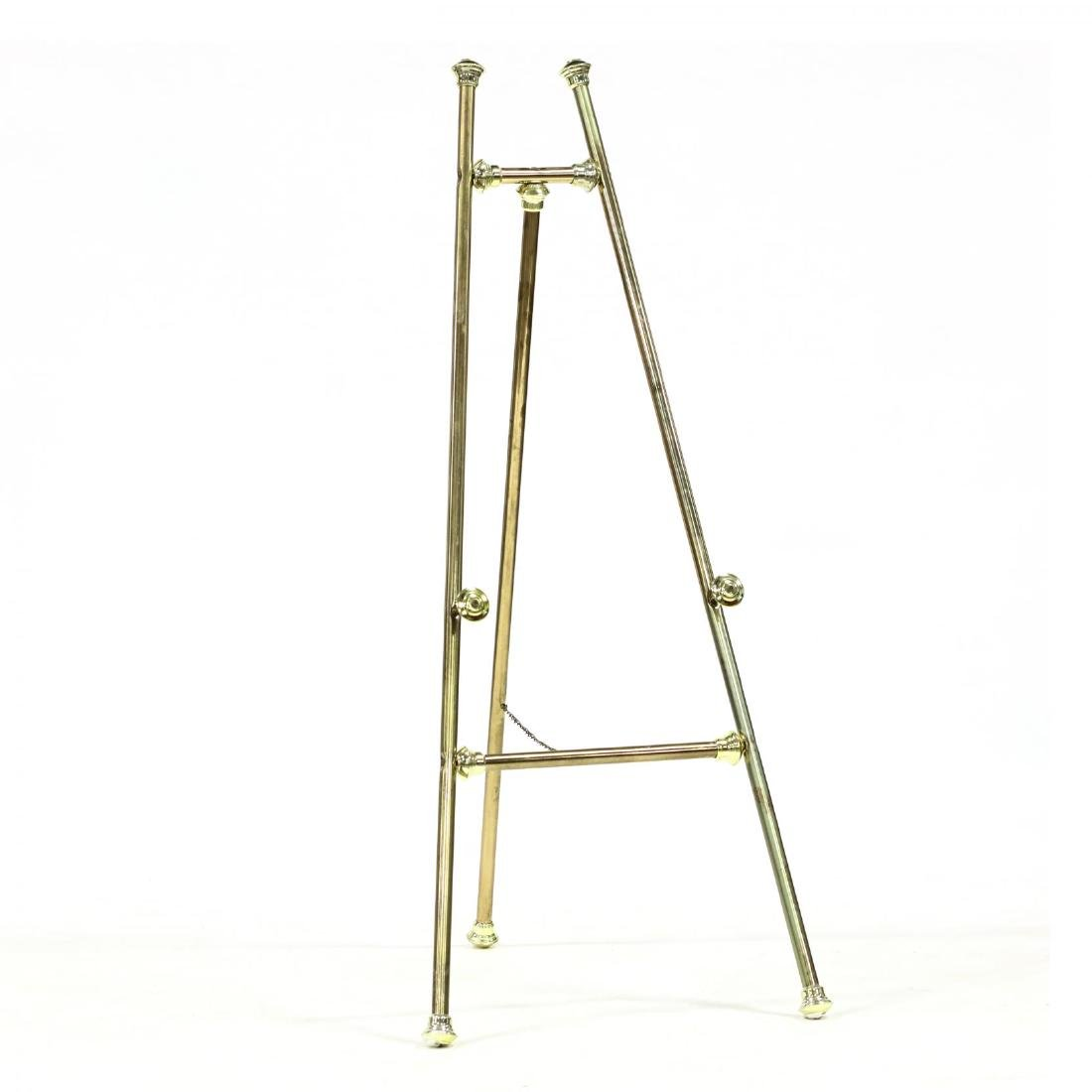 Vintage Collapsible Brass Easel