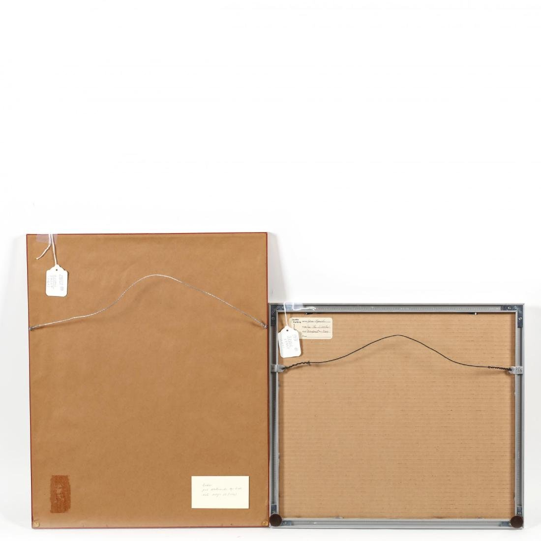 Two Japanese Woodblock Prints - 7