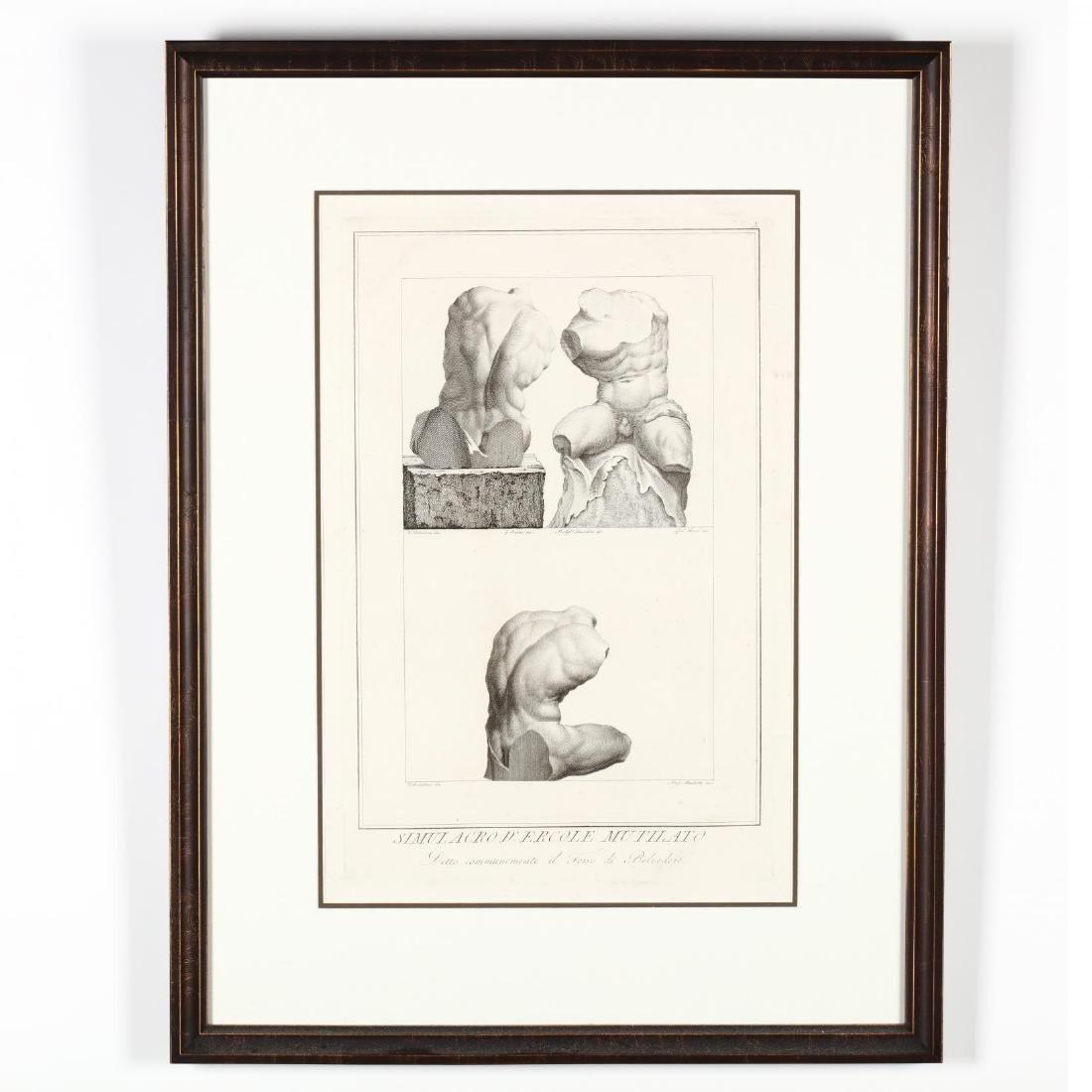 Four Antique Greco-Roman Prints - 2
