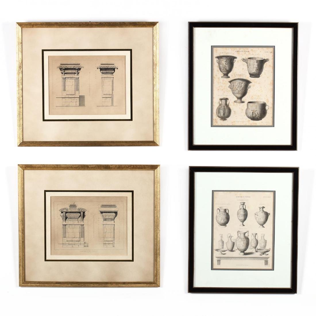 Four Greco-Roman Prints