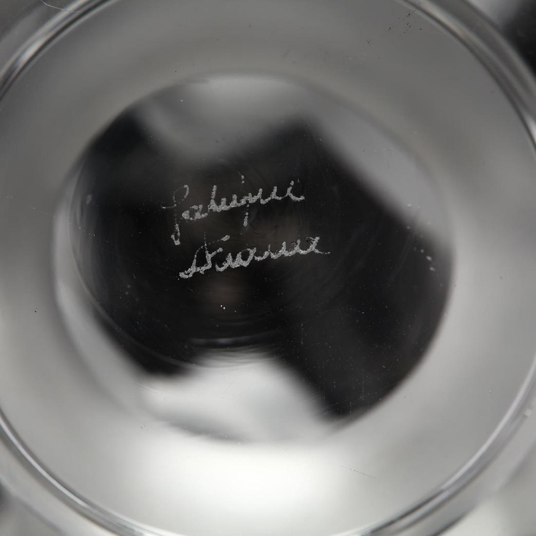 "Lalique ""Cerf"" Crystal Vase - 4"