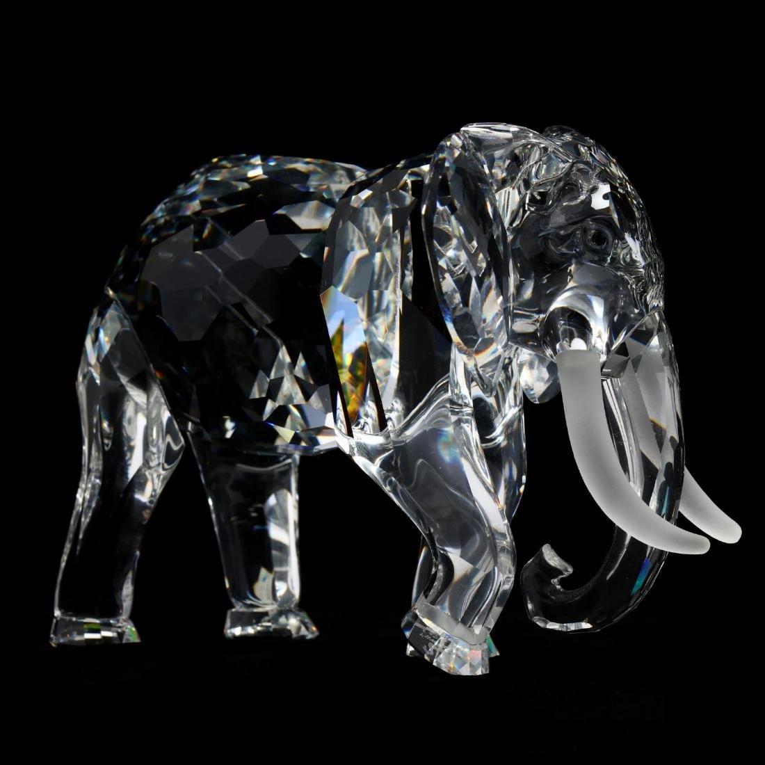 "Three Swarovski Crystal Animals from the ""Inspiration - 3"