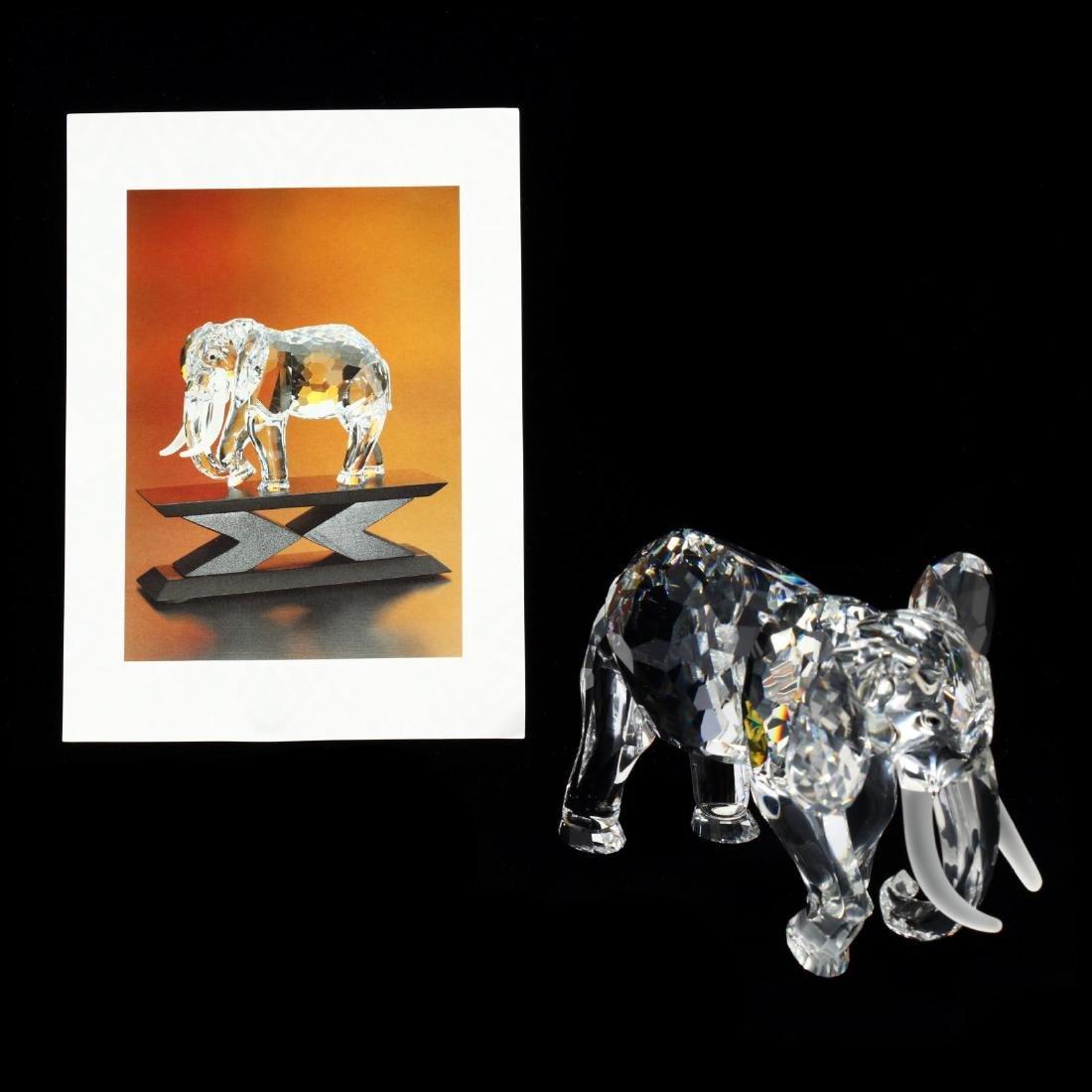 "Three Swarovski Crystal Animals from the ""Inspiration - 4"