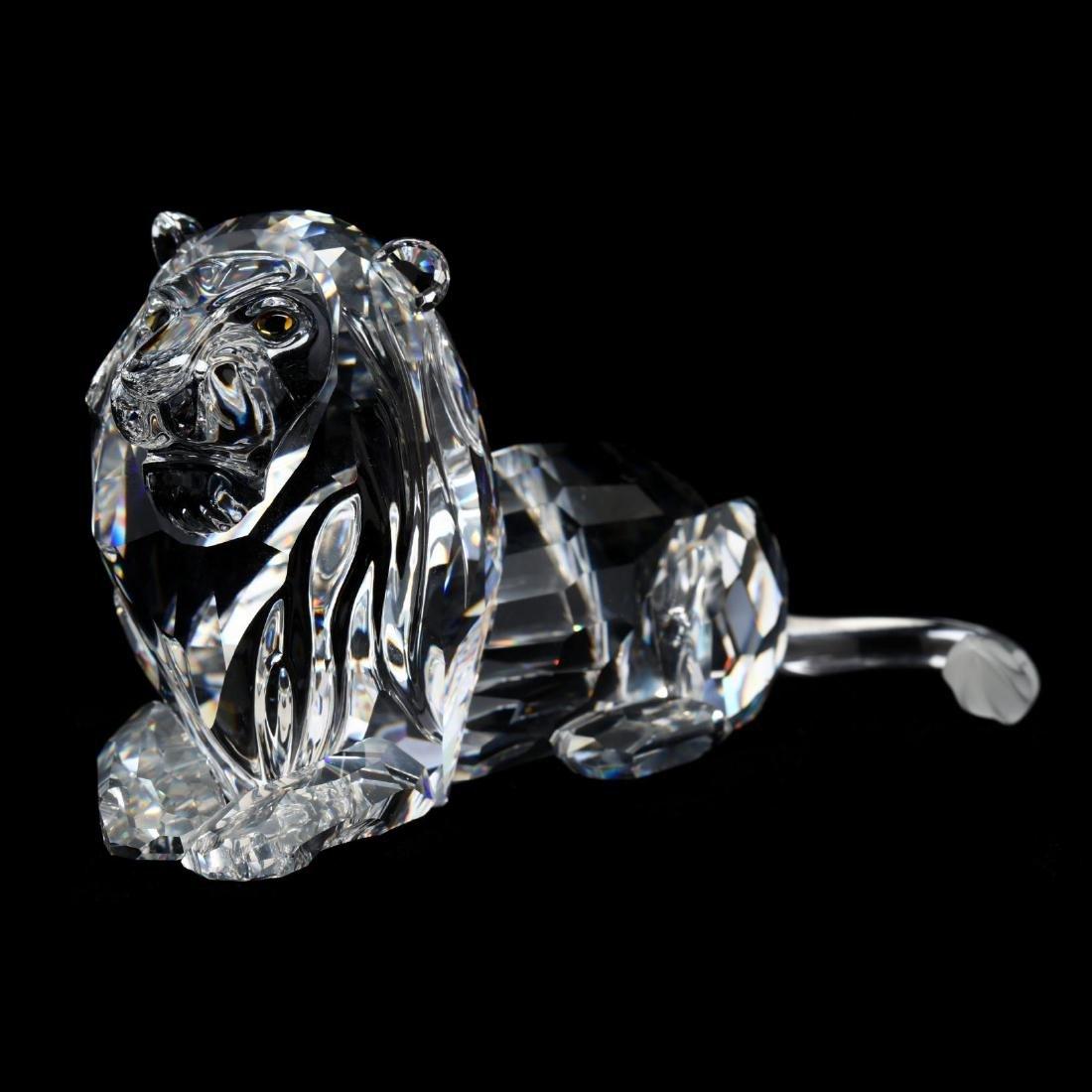 "Three Swarovski Crystal Animals from the ""Inspiration - 6"