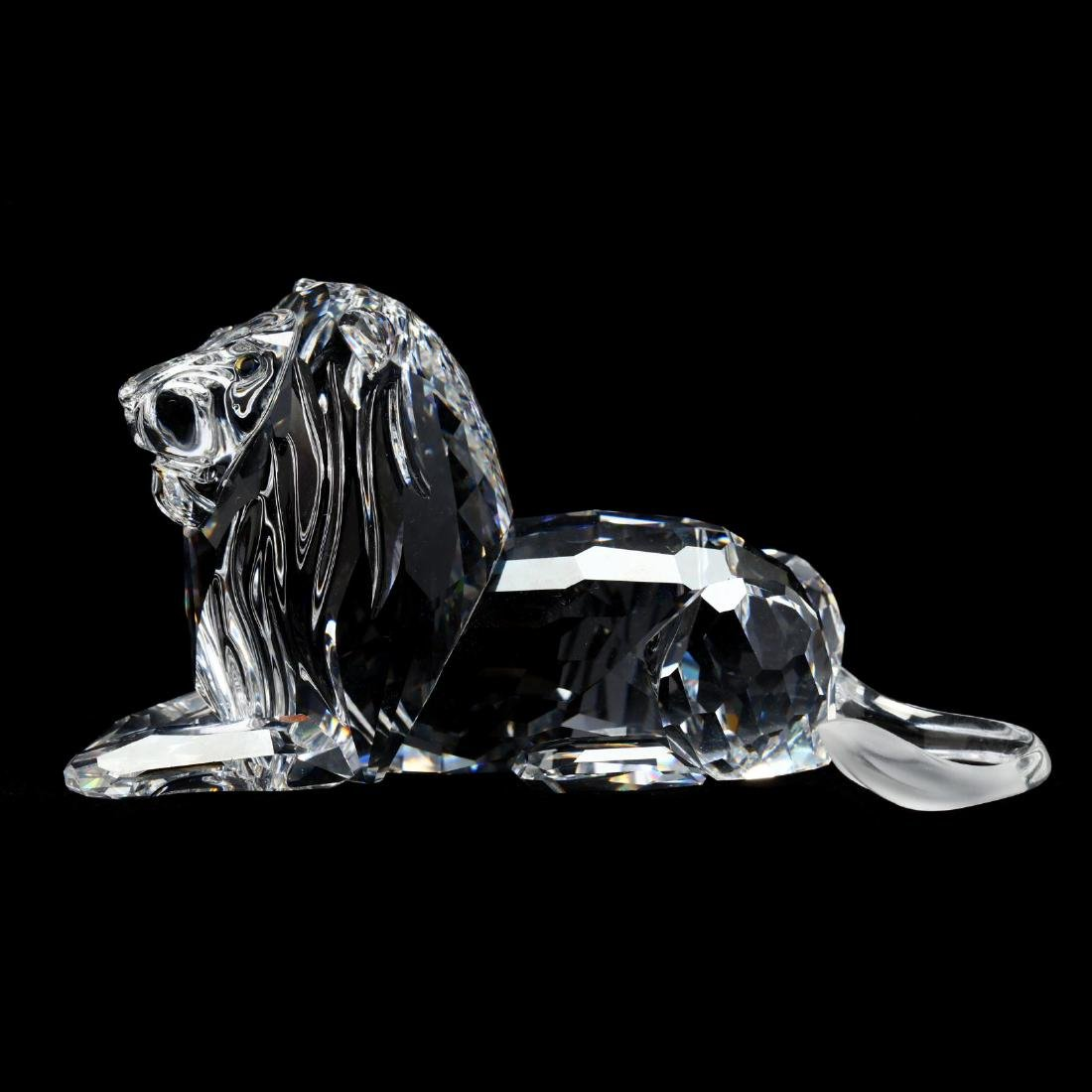 "Three Swarovski Crystal Animals from the ""Inspiration - 7"