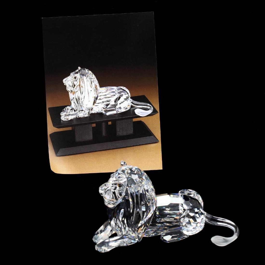 "Three Swarovski Crystal Animals from the ""Inspiration - 8"