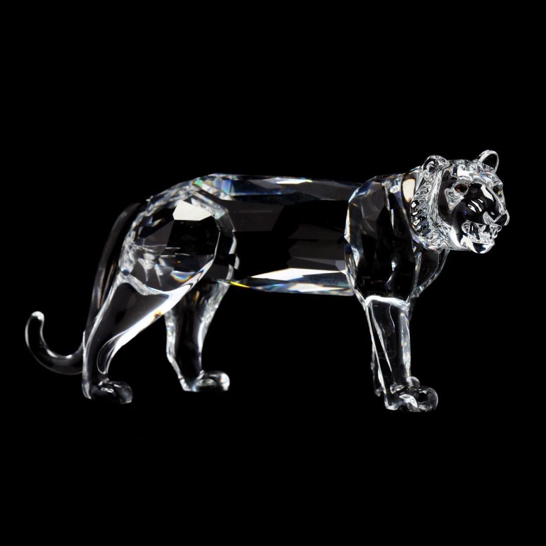 "Three Swarovski Crystal Animals from the ""Inspiration - 9"