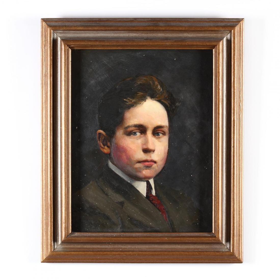 Vintage Portrait of a Young Man, circa 1920