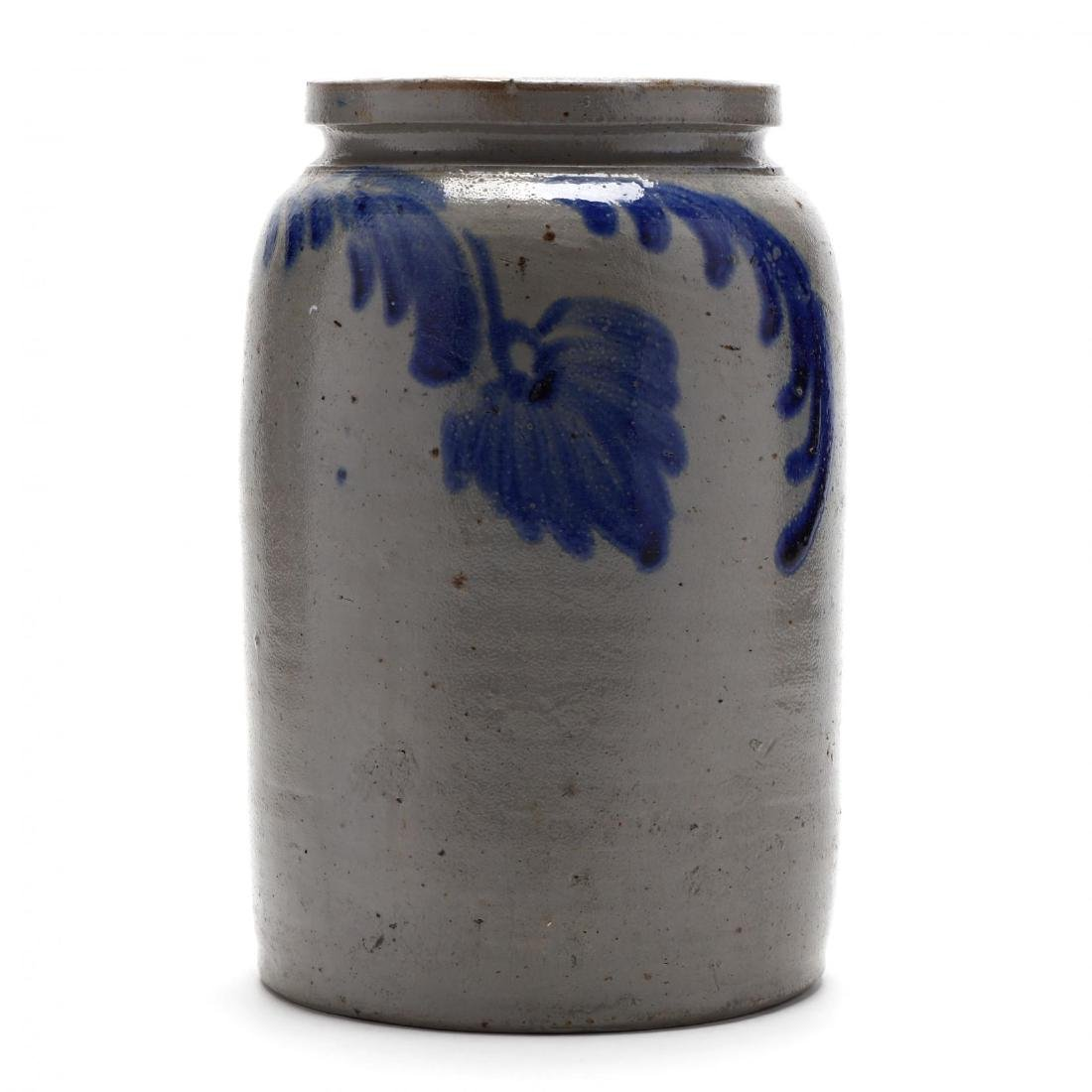 Antique One Gallon Storage Jar