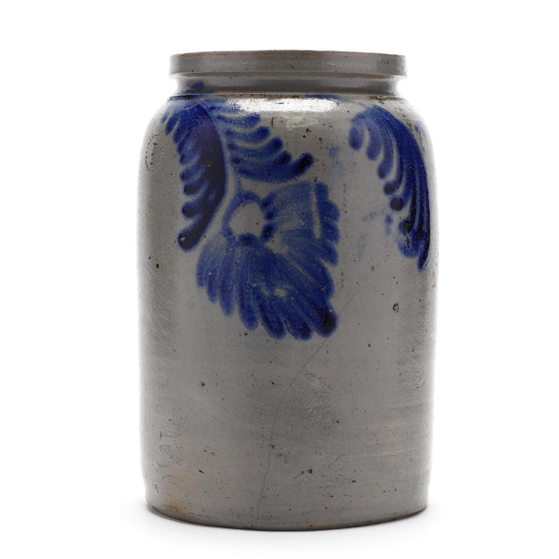 Antique One Gallon Storage Jar - 3