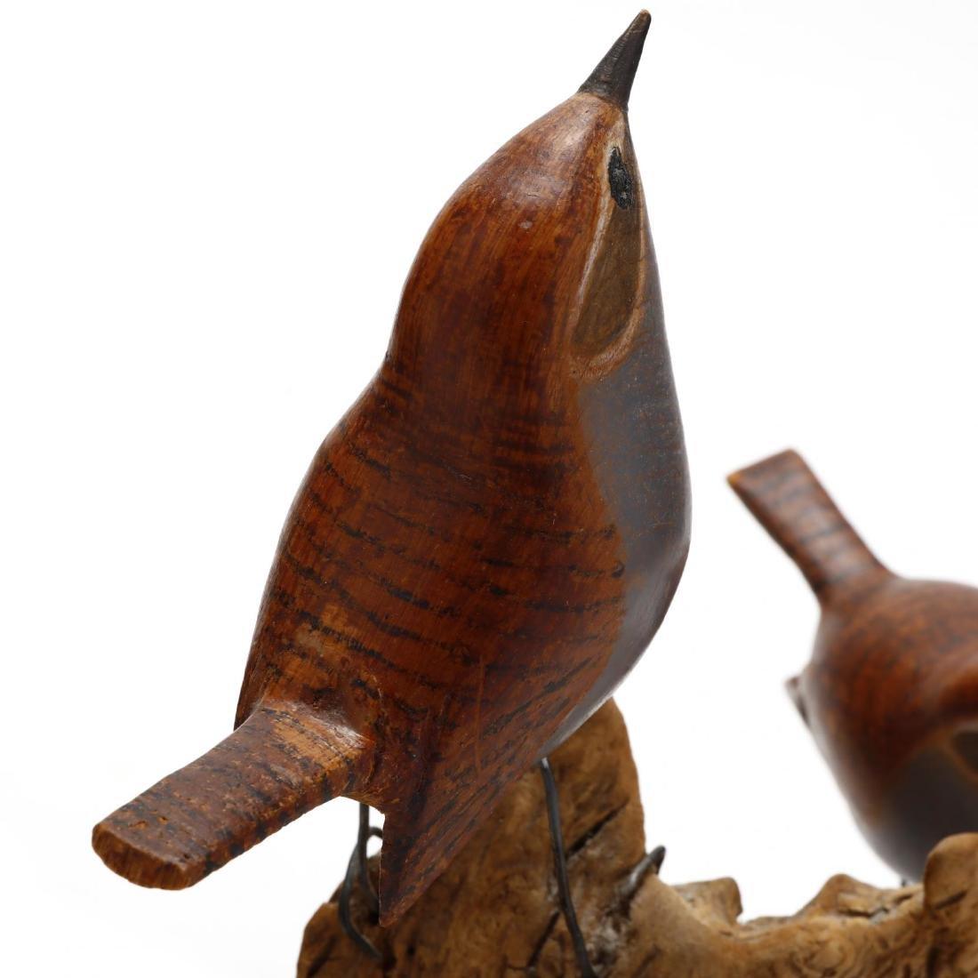 Two Folk Art Carvings, Alan Walker, VA Artist - 9