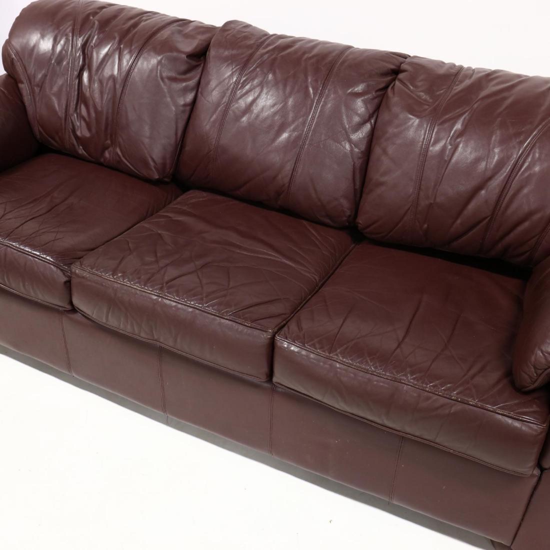 Modern Leather Sofa - 2