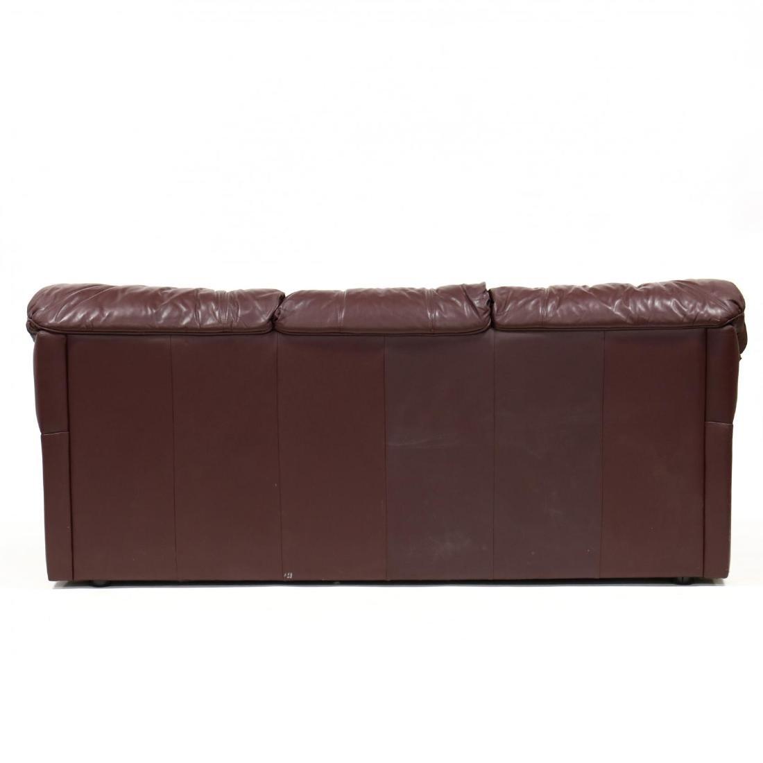 Modern Leather Sofa - 4