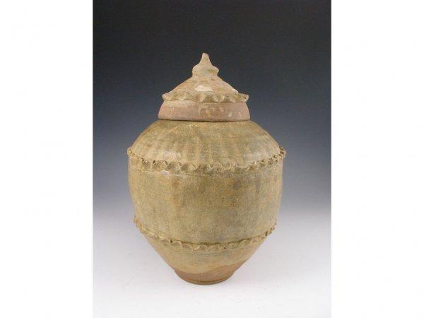 22: Chinese Tang-Song Dynasty Storage Jar,