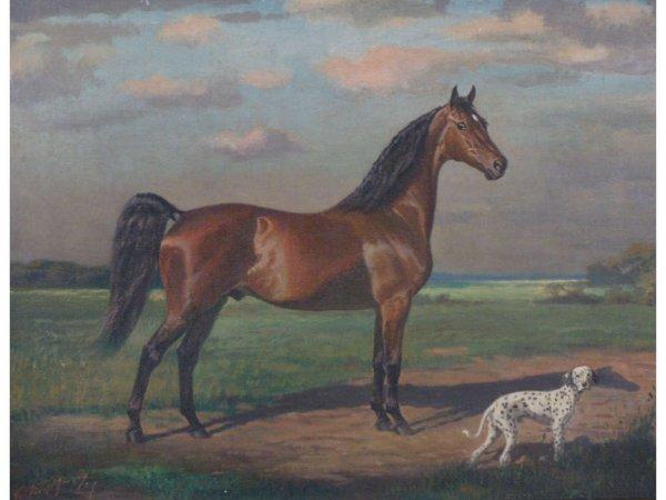 101: George Ford Morris (NY, 1873-1960), Saddle Horse,