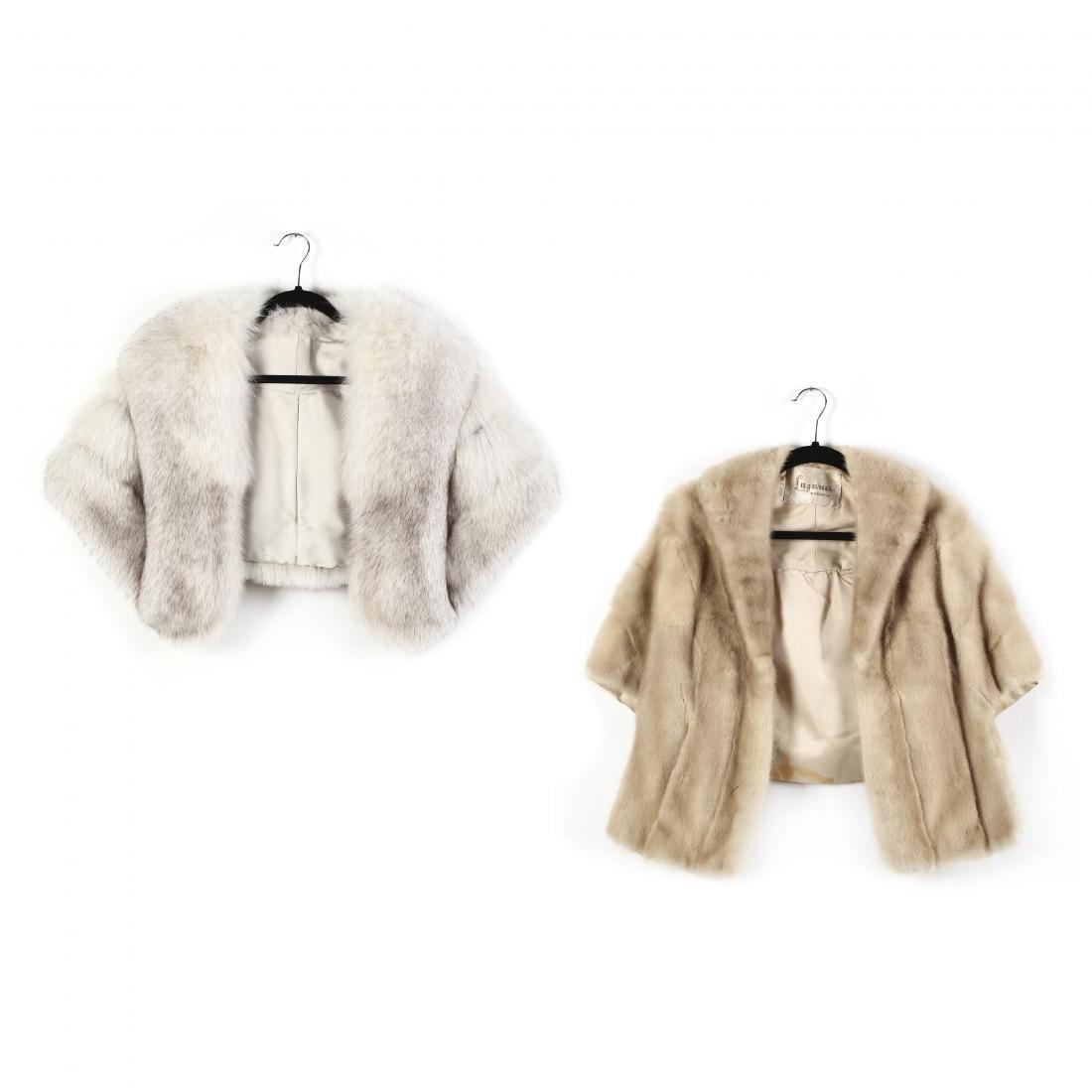 Two Fur Stoles