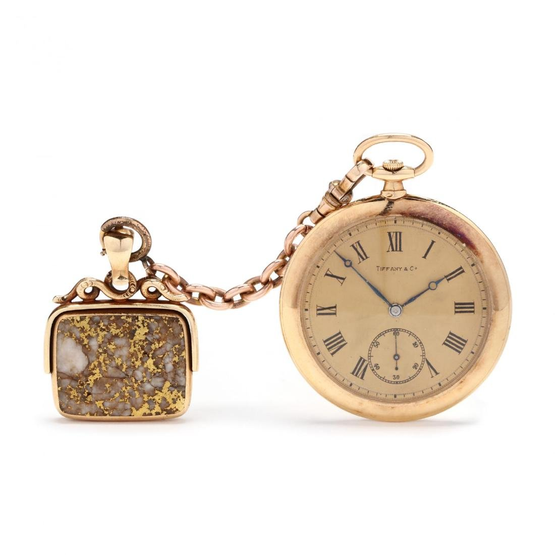 Vintage Tiffany & Co. 18KT Pocket Watch with