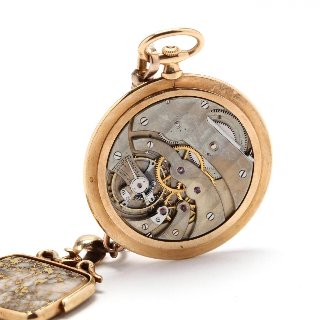 Vintage Tiffany & Co. 18KT Pocket Watch with - 4