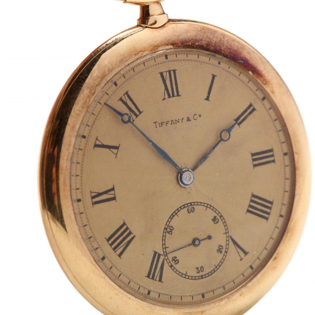 Vintage Tiffany & Co. 18KT Pocket Watch with - 6