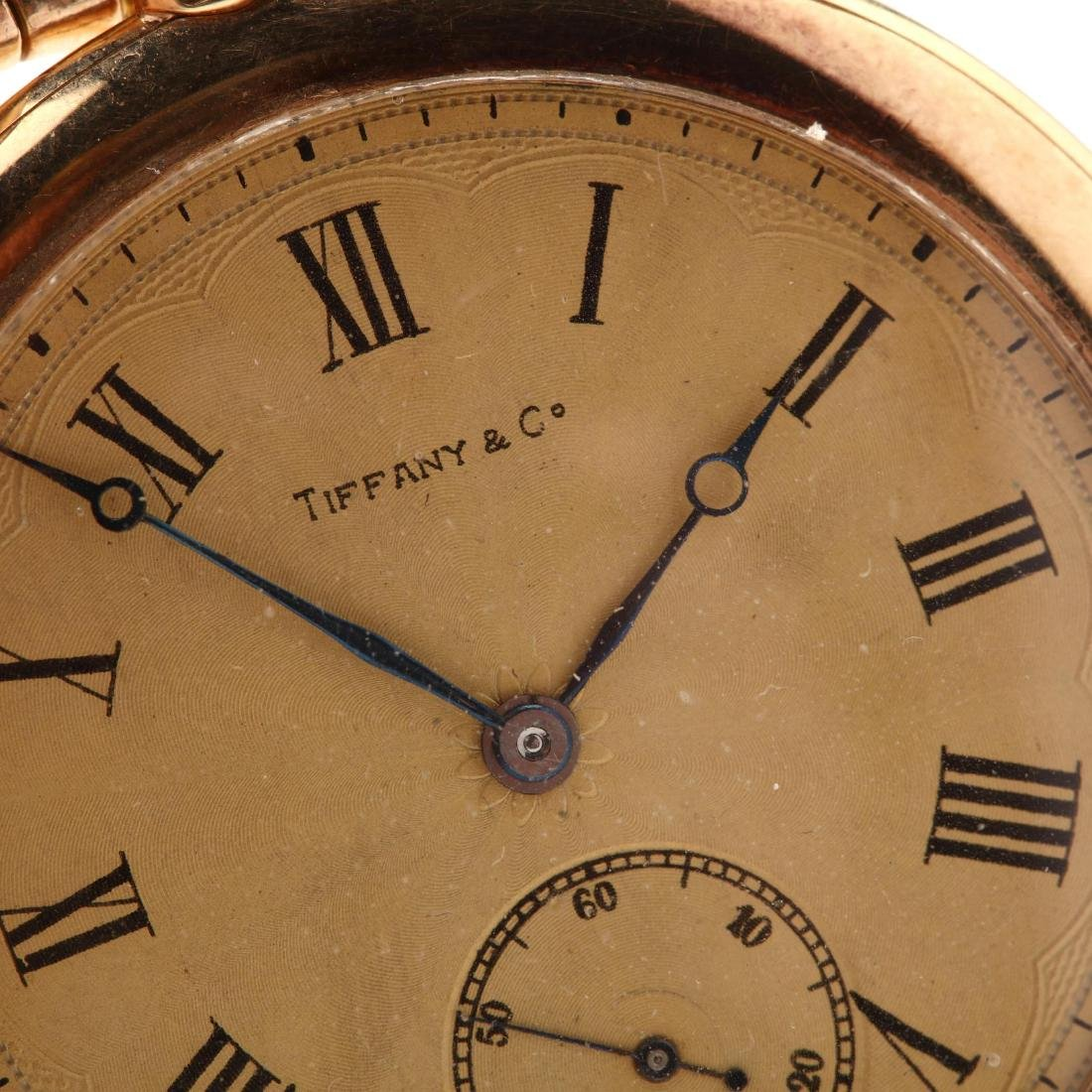 Vintage Tiffany & Co. 18KT Pocket Watch with - 7
