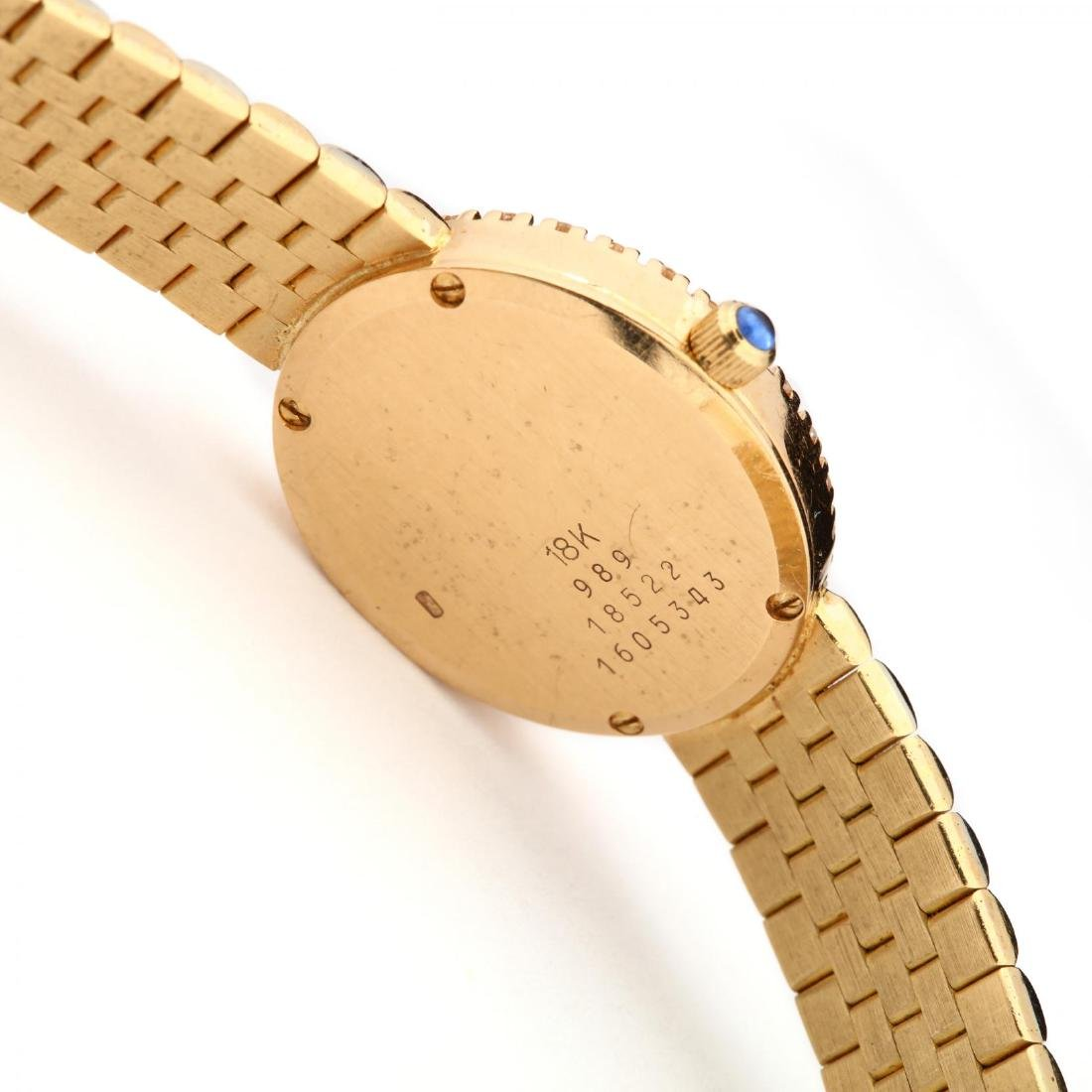 Lady's 18KT Gold and Diamond Watch, Baume & Mercier - 2