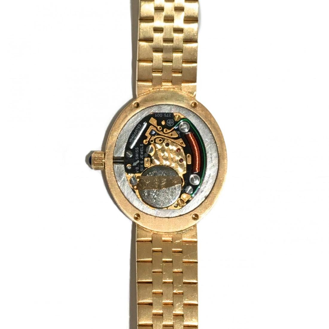 Lady's 18KT Gold and Diamond Watch, Baume & Mercier - 5