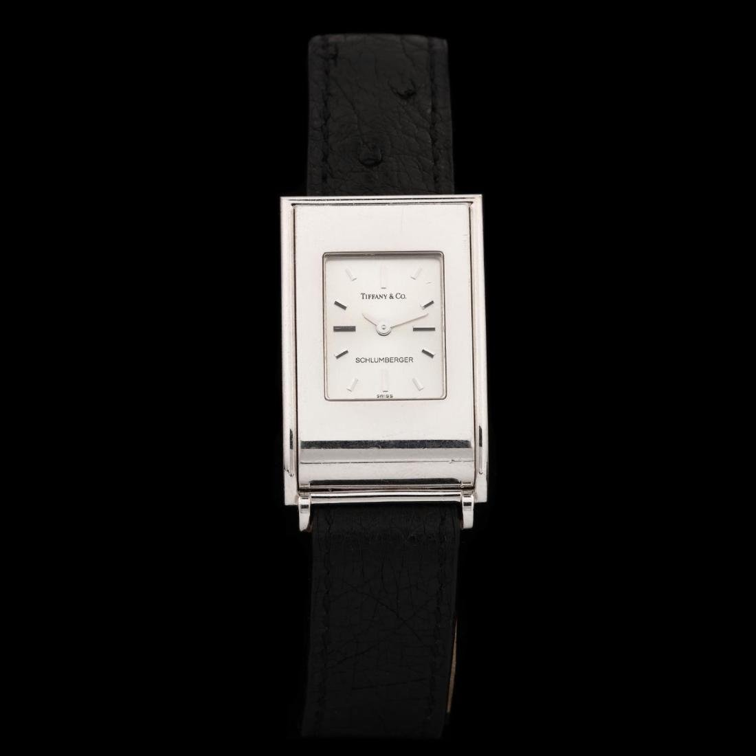 18KT White Gold Watch, Tiffany & Co. / Schlumberger