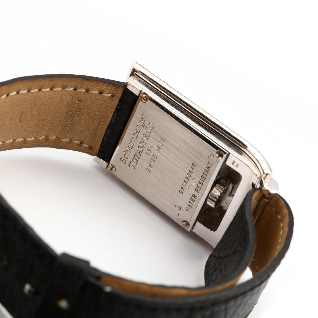 18KT White Gold Watch, Tiffany & Co. / Schlumberger - 2