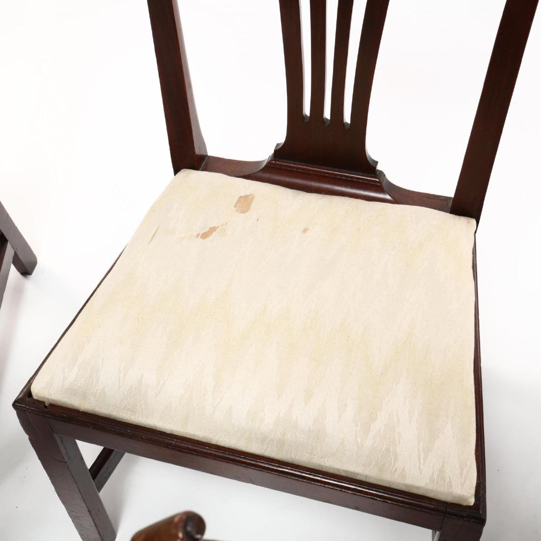 Set of Six American Chippendale Mahogany Side Chairs - 2