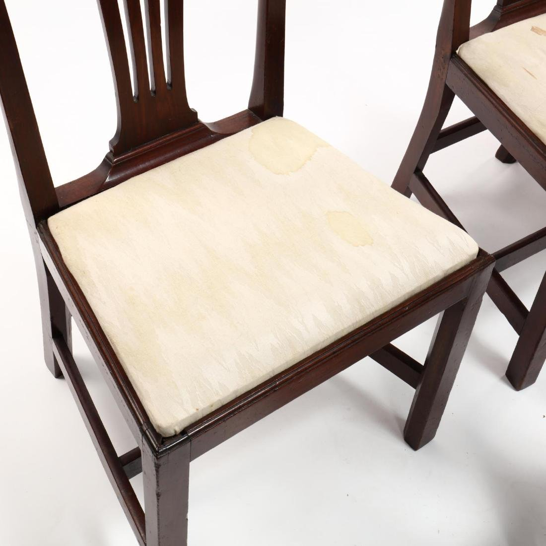 Set of Six American Chippendale Mahogany Side Chairs - 3