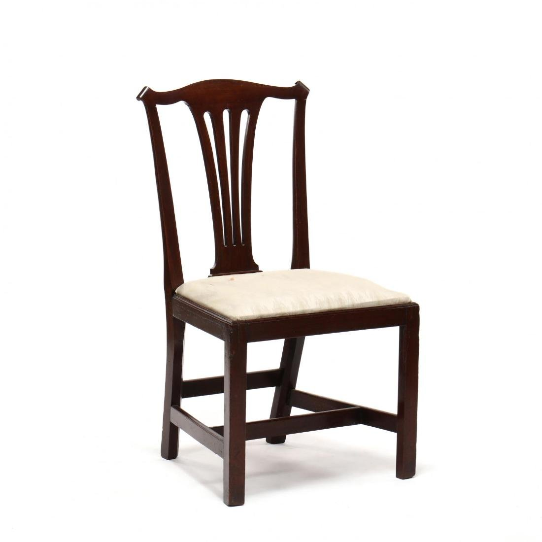 Set of Six American Chippendale Mahogany Side Chairs - 4