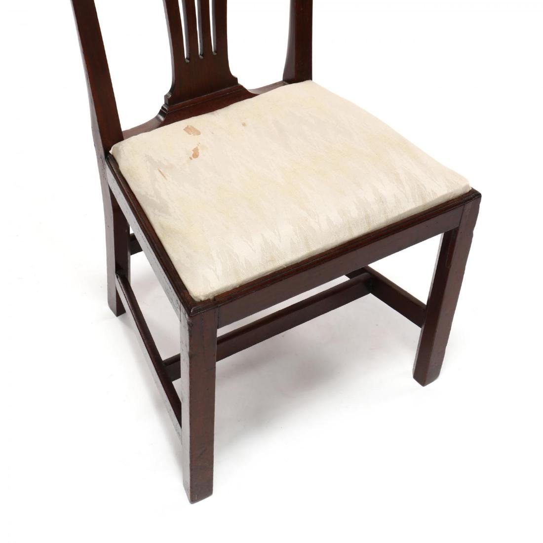 Set of Six American Chippendale Mahogany Side Chairs - 5