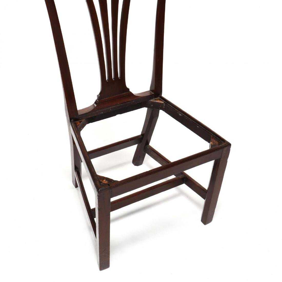 Set of Six American Chippendale Mahogany Side Chairs - 6